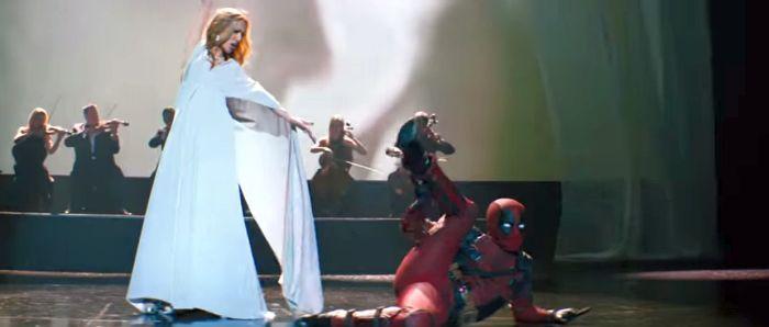 Дэдпул в клипе Селин Дион Ashes