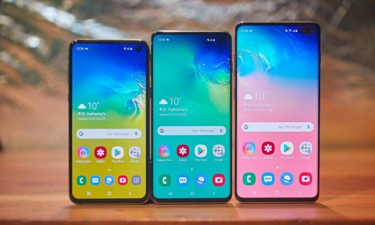 Samsung объявила российские цены на Galaxy S10e, S10 и S10+
