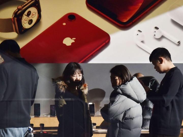 В Китае объявили бойкот технике Apple из-за Huawei