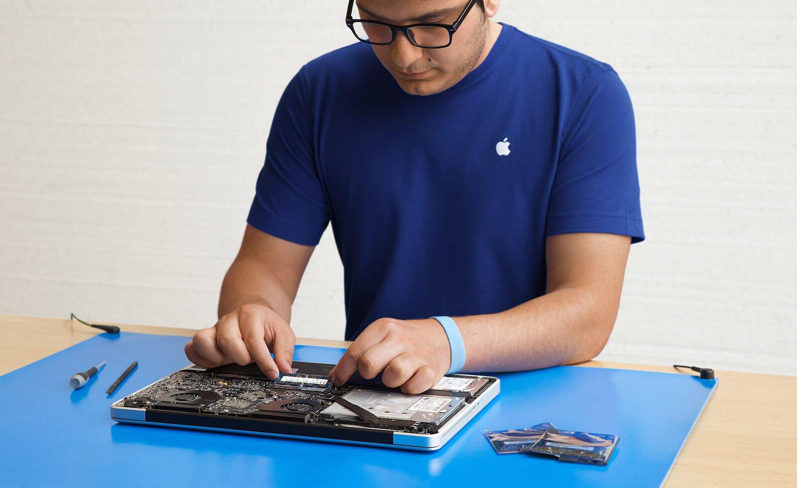 Тут все программы ремонта и замены устройств, которые предлагает Apple