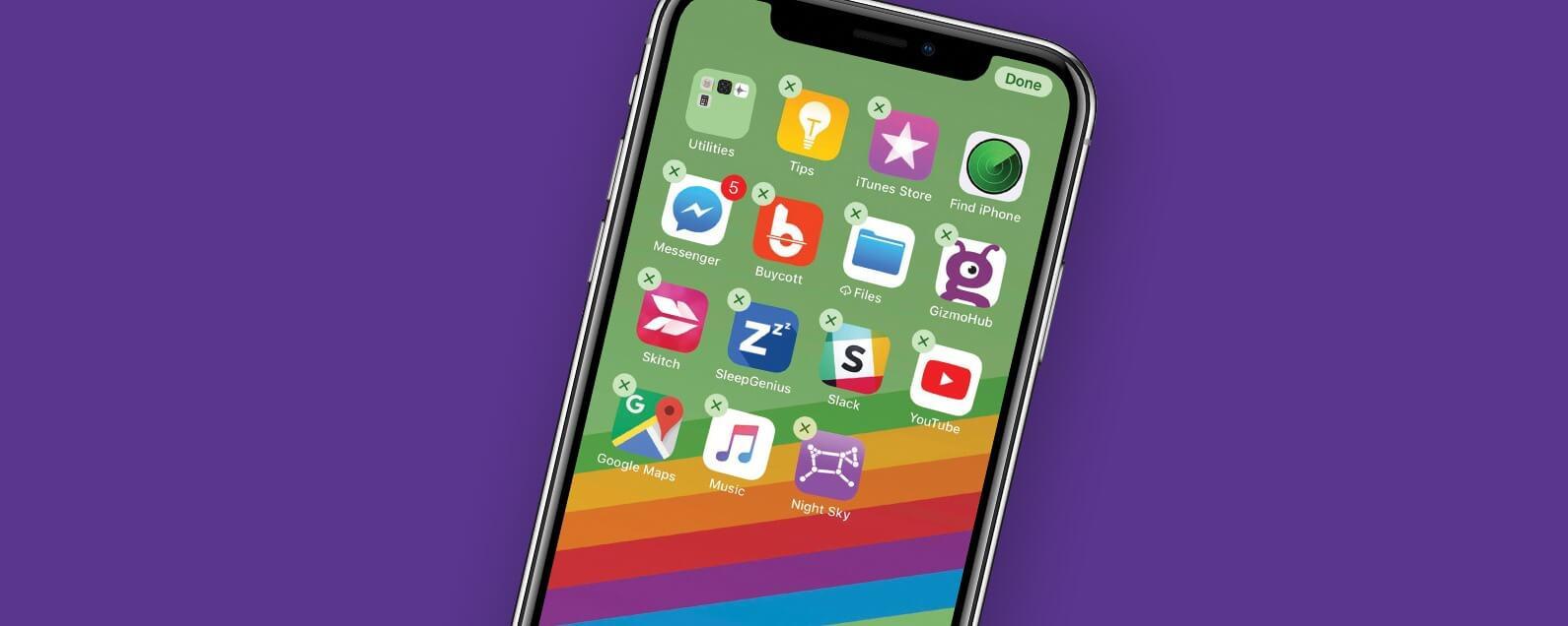 Вам может хватить 30 приложений на iPhone. Попробуйте
