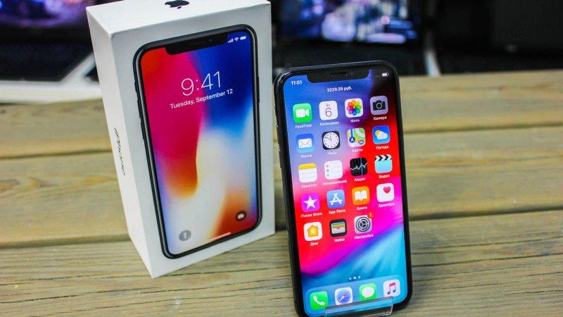 Начало продаж iPhone X: Возвращение Apple?