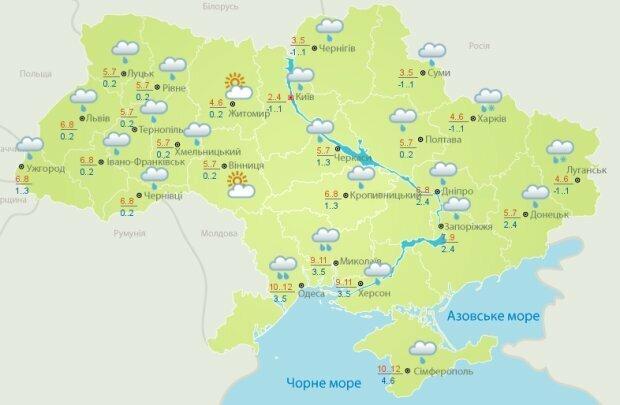 Запорожье превратится в город тысяч мокрых зонтов 14 декабря