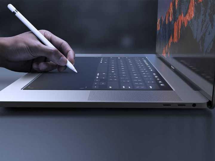 Как будет выглядеть трекпад нового MacBook