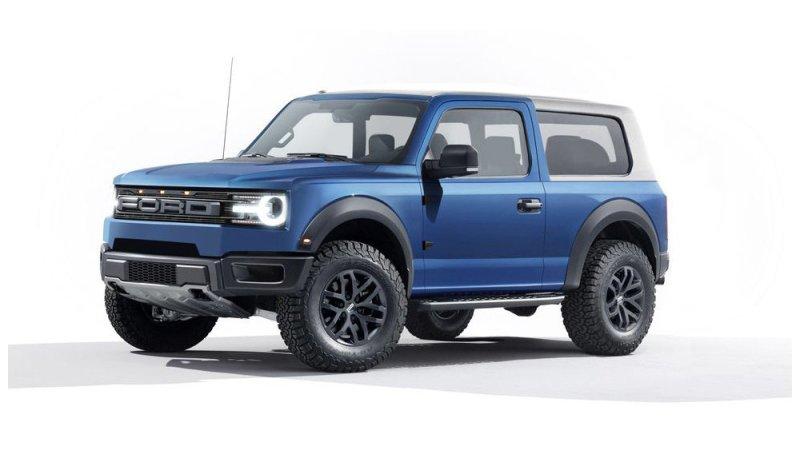 Ford Bronco 2020 – каким будет конкурент Jeep Wrangler