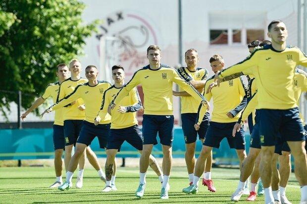 Сборная Украины по футболу, фото: Instagram