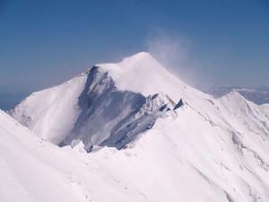 冬の山 画像