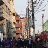 麻布学園 文化祭 火事 火災