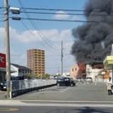 ゆめタウンはません 火事 火災