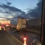 圏央道 トラック 事故 渋滞