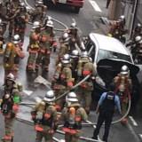 東京都墨田区錦糸3丁目で車両火災