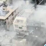 東京都墨田区錦糸町「下町バームクーヘン」で火事