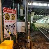 JR南武線 平間駅 踏切を強行突破する人続出