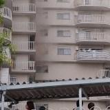 大阪市東淀川区東淡路付近で火事