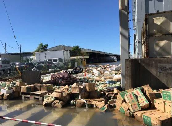台風19号 浦和市場 浸水