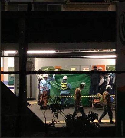 上板橋駅で人身事故