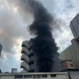 池袋2丁目で火災