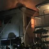 福岡県北九州市八幡西区折尾4丁目で火事
