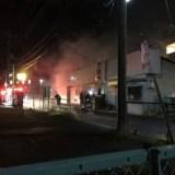 カレー屋「テイスティ」で火事 千葉県流山