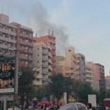 「イトーヨーカドー 大森店」付近のビルで火事