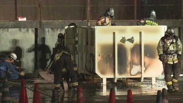九州大学病院 馬出キャンパスで火事