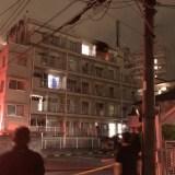 埼玉県鶴ヶ島市大字鶴ヶ丘のマンションで火事