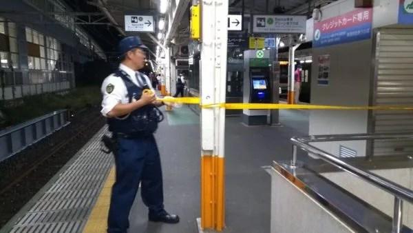 2019年10月23日、熱海駅で人身事故