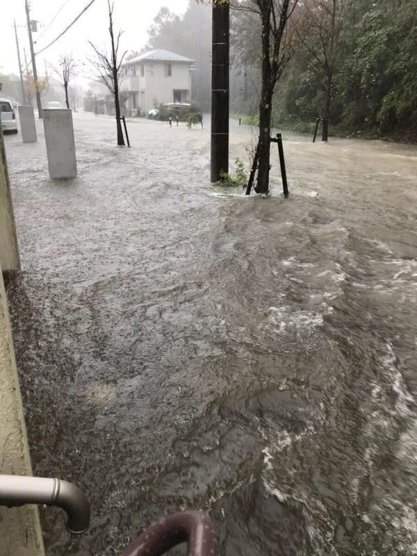 千葉県市原市ちはら台が豪雨