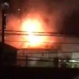 2019年11月25日 奈良県橿原市栄和町 火事
