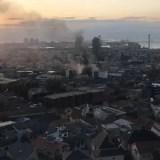 兵庫県神戸市灘区篠原北町付近 六甲登山口 火事 2019年11月20日