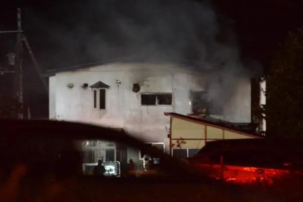 北海道北広島市西の里 火事 2019年11月1日