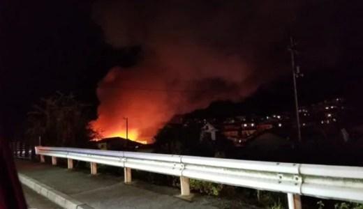 動画 広島市東区戸坂大上3丁目の火事がヤバイ 速報画像2019年12月6日