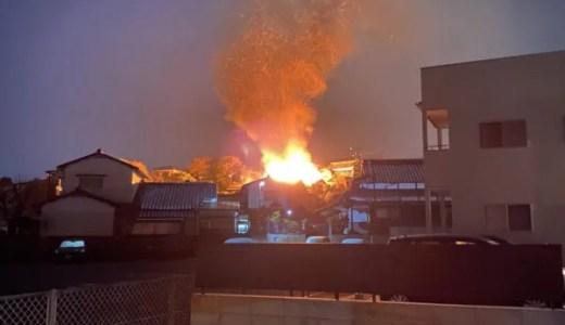 長崎県佐世保市天神5丁目の火事がヤバイ 速報画像2019年12月10日