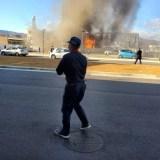 いわき市医療センター 火事 2019年12月12日