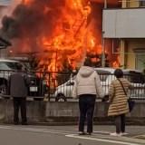 埼玉県入間郡毛呂山町中央3丁目 火事 2019年12月30日
