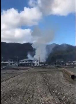 岡山県岡山市東区瀬戸町万富 火事  2020年1月15日