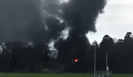 滋賀県東近江市今町 能登川付近で火事 原因は?速報動画・画像2020年1月22日