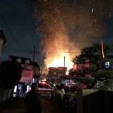 奈良県生駒市南田原町で火事 速報動画・画像2020年1月13日