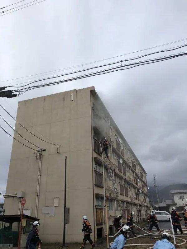 福島県会津若松市館馬町 火事 2020年1月20日
