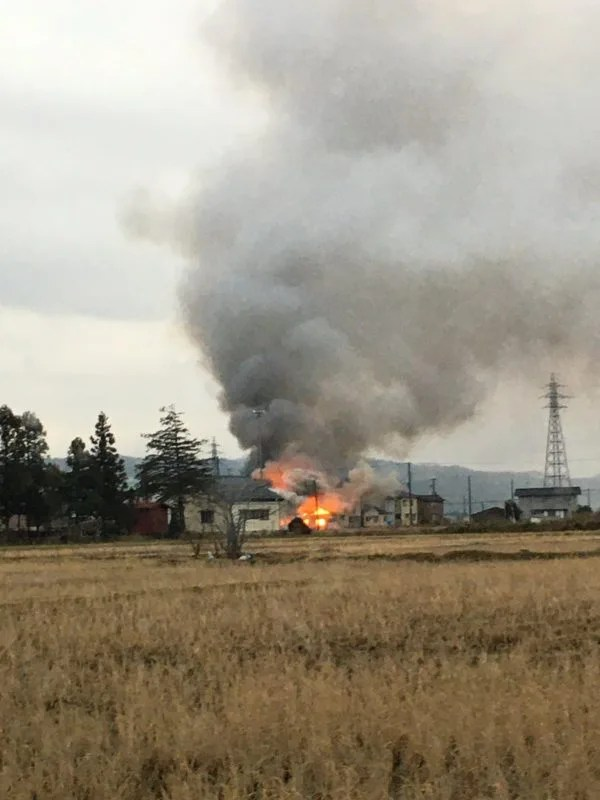 東京都府中市栄町2丁目 火事 2020年1月24日