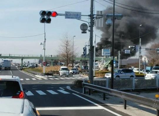 埼玉県熊谷市上川上 火事 2020年2月3日
