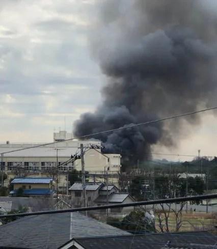 埼玉県桶川市大字川田谷 火事 2020年2月4日