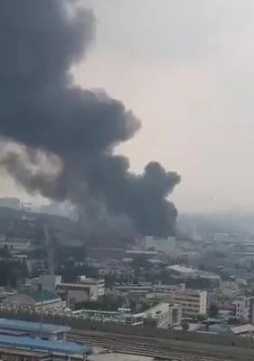 富山県滑川市 三豊工業 追分工場 火事 2020年6月20日