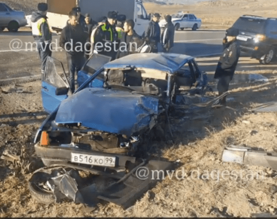 Лихач на «Мерседесе» сбил полицейского в Дагестане и скрылся с места аварии