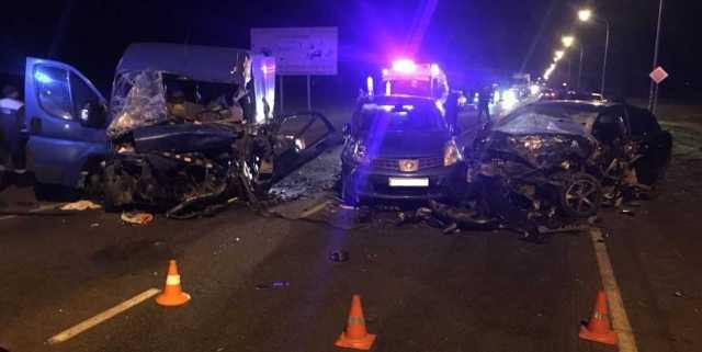 Два человека погибли в ДТП под станицей Петропавловской на Кубани