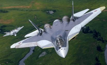 В Хабаровском крае во время испытательного полёта разбился самолёт Су-57