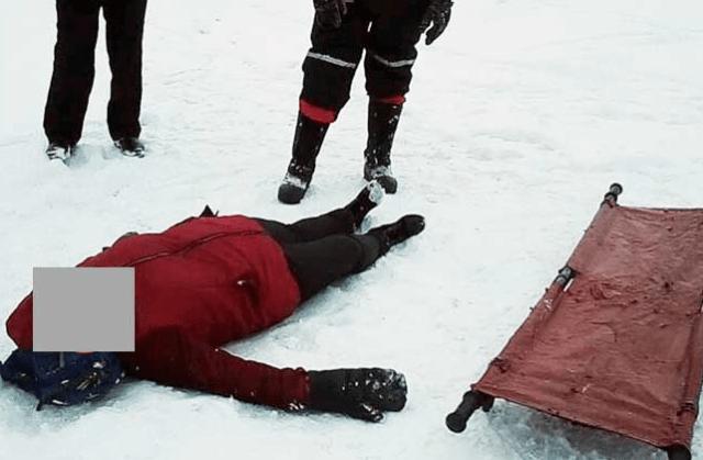 Женщину с травмой головы рыбаки обнаружили на льду Волги