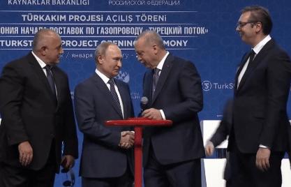 Владимир Путин и Реджеп Эрдоган официально открыли газопровод «Турецкий поток»