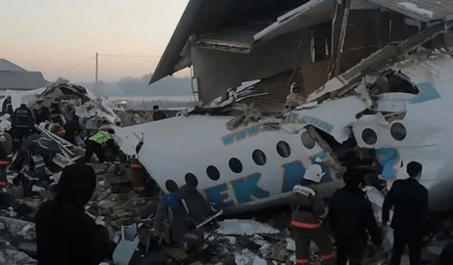 Итоги проверки компании, самолет которой разбился под Алма-Атой