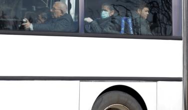 Пассажира автобуса Таллин-Москва вывели из автобуса из-за того, что он закашлялся